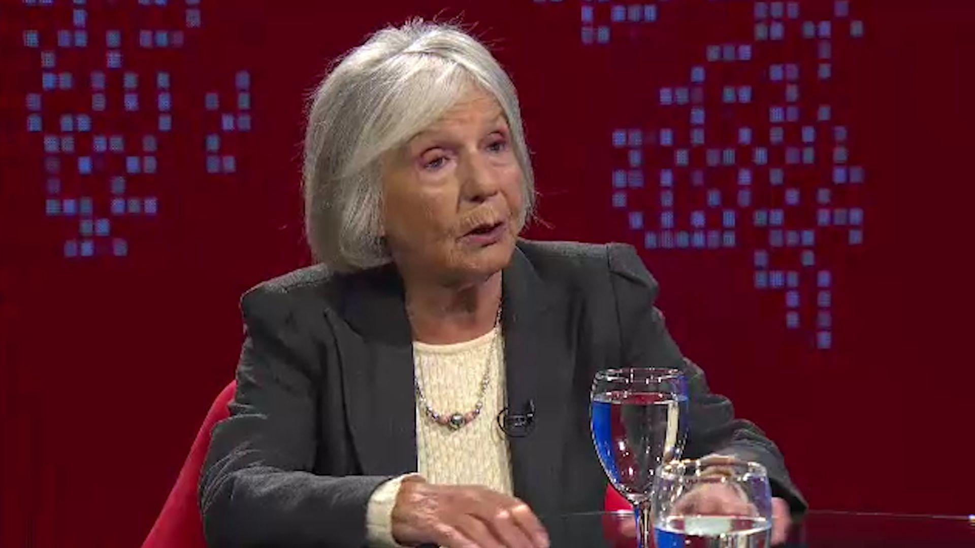 """Beatriz Sarlo le dedicó un ensayo a Néstor Kirchner: """"La audacia y el cálculo"""""""