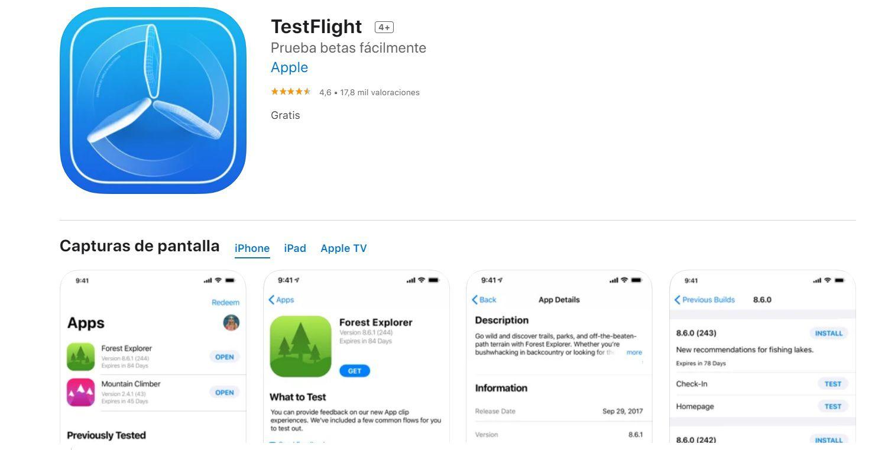 Test flight iOS