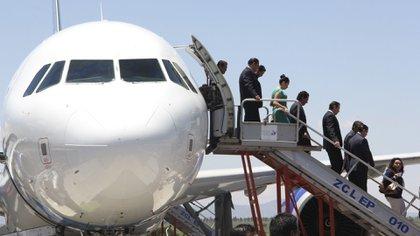 El sector aeronáutico ha sido uno de los que más ha sufrido por la pandemia de COVID-19 (Foto: Cuartoscuro)