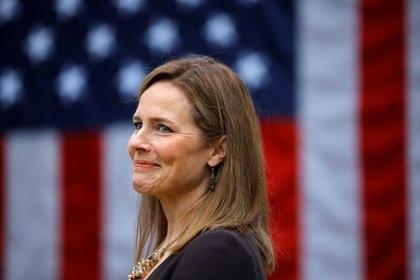 La jueza Amy Coney Barrett fue la elegida por Donald Trump para ocupar un lugar en la Corte Suprema de los Estados Unidos (Reuters)