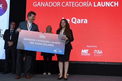 Jacqueline Cruz, de Perú ganó U$S 55.000