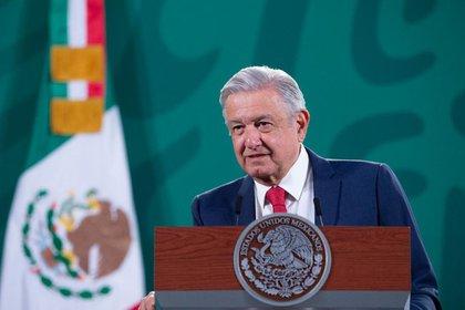 AMLO afirmó en su conferencia mañanera que pese a que hay muchos periodistas conservadores en su contra él nunca usaría el poder del Estado para tomar represalias, sólo su derecho de réplica (Foto: Presidencia de México)