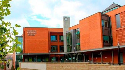 El Hospital de Niños de Sheffield, donde desarrolla su prestigiosa carrera la médica argentina