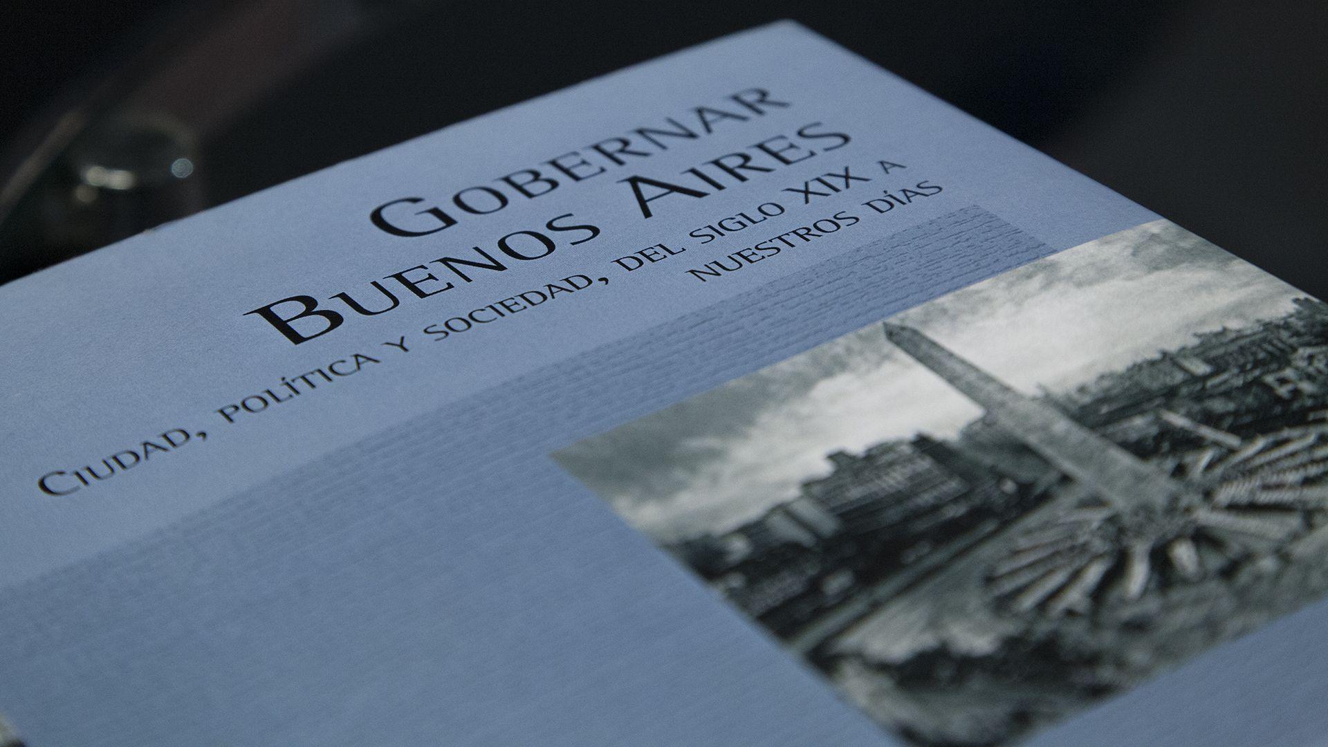 """El autor publicó """"Gobernar Buenos Aires"""", un estudio exhaustivo sobre las problemáticas urbanas y políticas que atravesaron en un siglo a la Ciudad de Buenos Aires."""