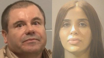 Tanto el Chapo Guzmán como Emma Coronel están lejos de sus gemelas  (Foto: Reuters)