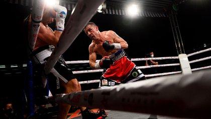 Maravilla Martínez volvió al ring después de seis años y ganó por KO (EFE)