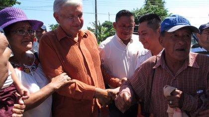 Andrés Manuel López Obrador comenzó una resistencia civil en Tabasco (Foto: lopezobrador.org)