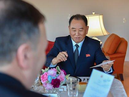 Kim Yong Chol, vicepresidente de Corea del Norte.