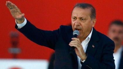El presidente turco, Recep Tayyip Erdogan (Reuters)
