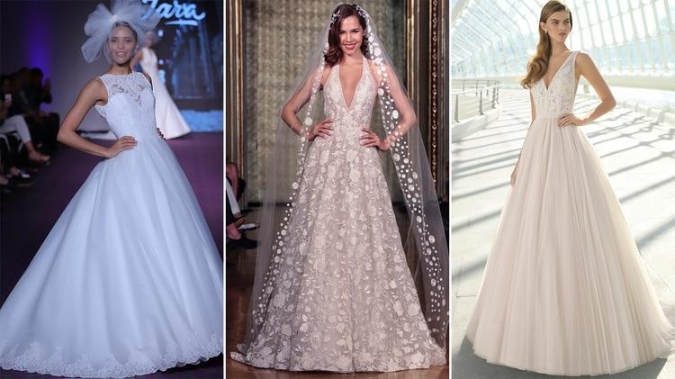 abeb96193 Temporada de bodas  17 diseños de autor para las novias modernas ...