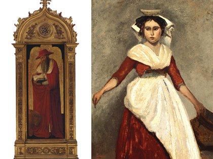 Las obras de Donato de' Bardi y Camille Corot que salen a subasta