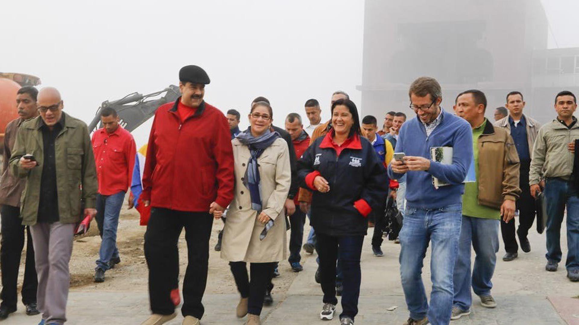 Maduro,-Cilia-Flores,-Marlene-de-Cabello-y-otros-funcionarios-en-el-Avila