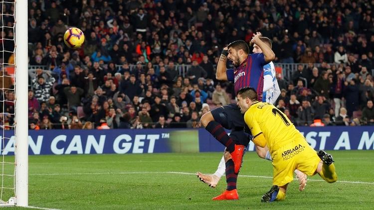Controversia por el gol de Luis Suárez en el triunfo de Barcelona ante Leganés: por qué debió ser anulado