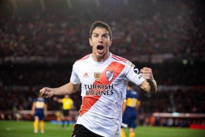 Fernández firmó un contrato con Atlético Mineiro hasta diciembre de 2023 (EFE/Matías Napoli Escalero/Archivo)