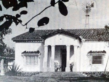 Villarrica: la quinta de Rigoberto Caballero, anfitrión de Perón en su estancia en esa localidad del interior de Paraguay