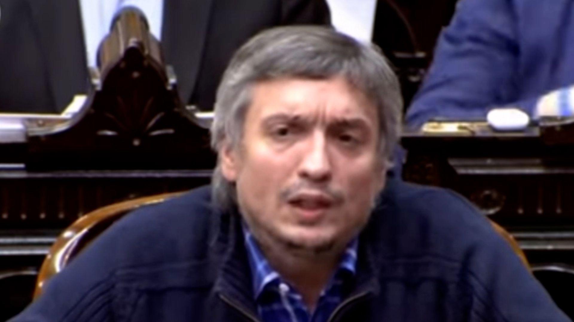 Máximo Kirchner - ley de etiquetados