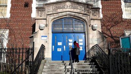 Public School 41 dans l'arrondissement de Queens, New York.  REUTERS / Shannon Stapleton