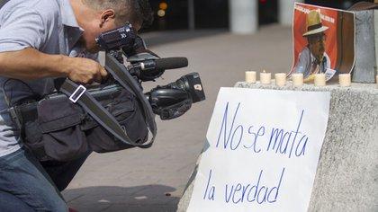 Cuatro comunicadoreas han sido asesinados en México en lo que va del año. (Foto: Cuartoscuro)