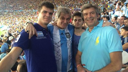 Beto Casella en el Mundial de Brasil en 2014