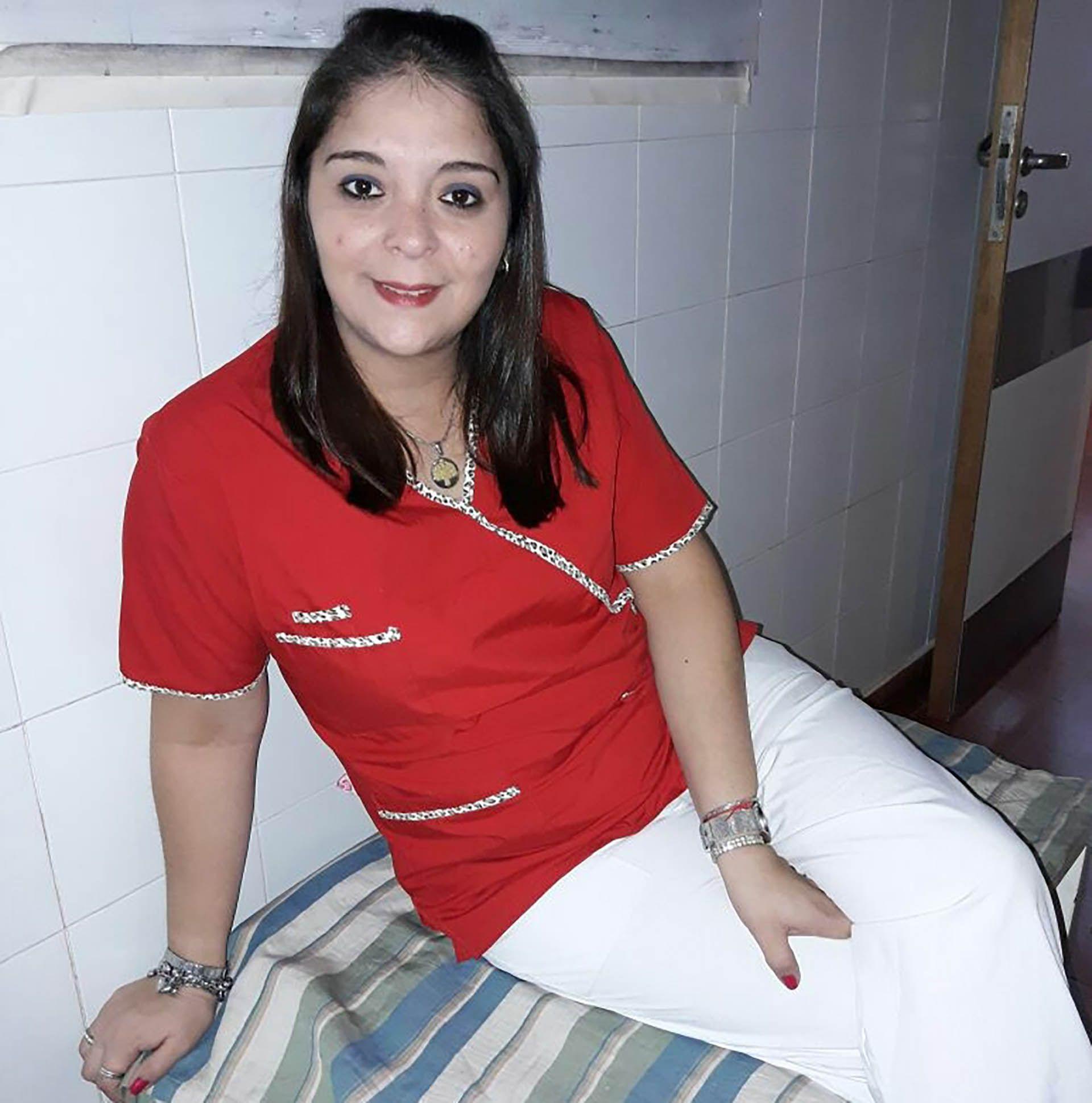 Daiana Almeida, de 30 años, trabajaba como enfermera en el hospital San Felipe de San Nicolás