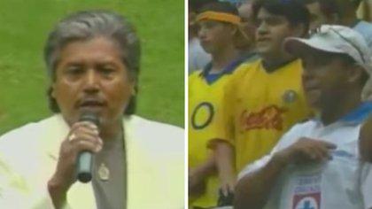 Quién es el cantante que entonó mal el himno nacional en partido del Club América