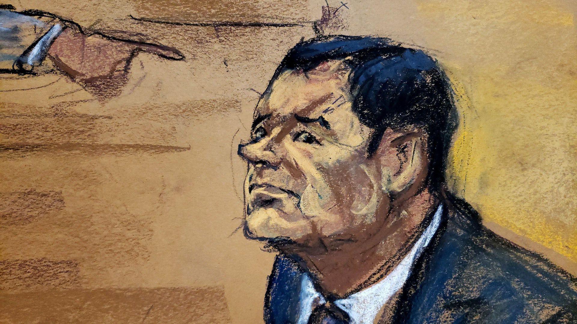 El Chapo fue sentenciado a cadena perpetua más 30 años (Foto: EFE)