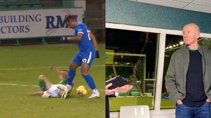 Irvine Welsh hizo un ofensivo comentario contra Alfredo Morelos tras un pisotón donde no fue expulsado del encuentro entre HIbernian y Rangers