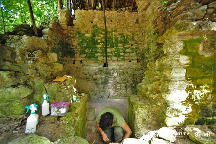 Hallazgos e investigaciones en Kulubá (Foto: www.inah.gob.mx)
