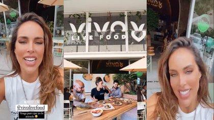 Sara Corrales invitó a sus seguidores a visitar su restaurante en Medellín