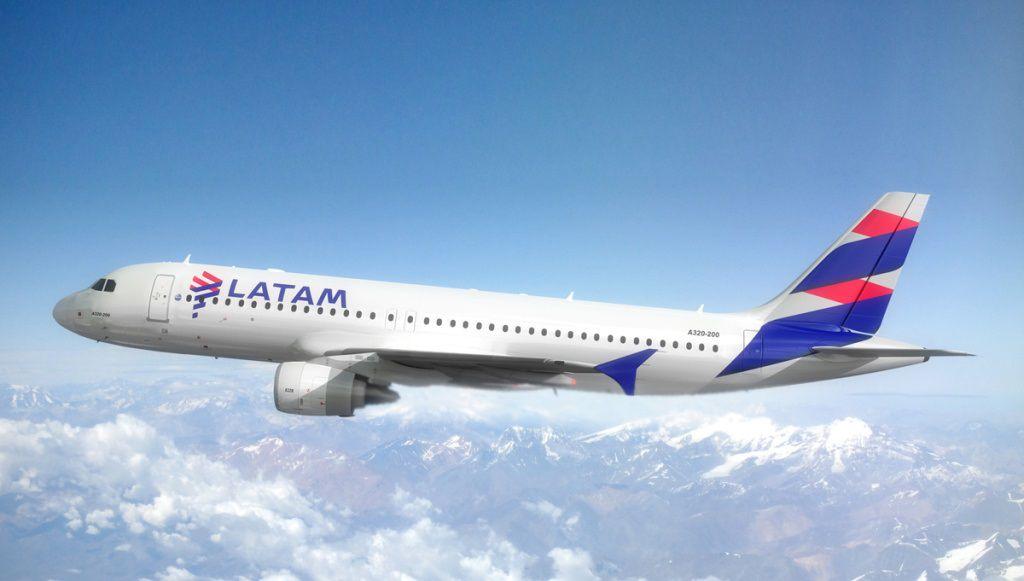 Un avión de Latam Airlines