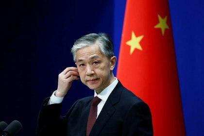 Wang Wenbin, portavoz del Ministerio de Relaciones Exteriores chino