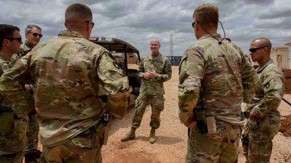Fuerzas estadounidenses en Somalia AP