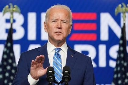 Joe Biden se convertirá en el próximo presidente de Estados Unidos (Foto: Reuters / Kevin Lamarck)