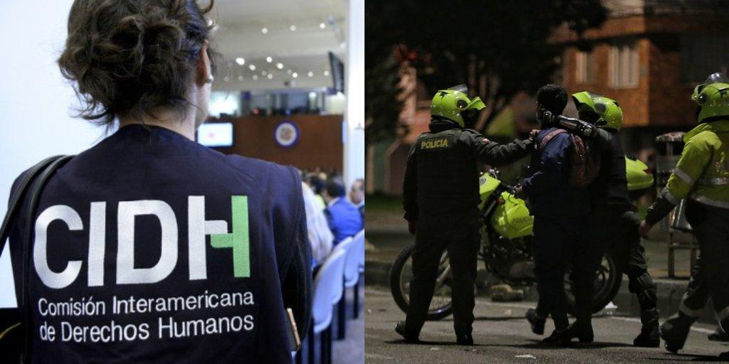 CIDH solicitó visita a Colombia por denuncias sobre violaciones a los  derechos humanos durante las protestas - Infobae
