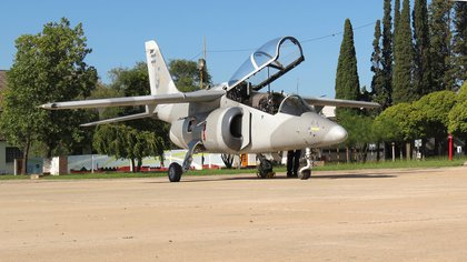 Los aviones de entrenamiento básico-avanzado Pampa III se hicieron en Córdoba