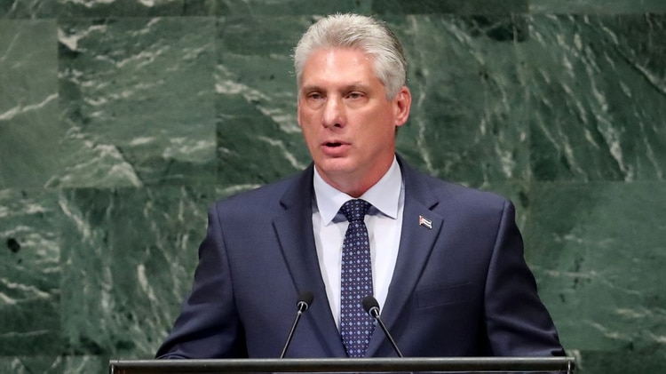 Miguel Díaz-Canel, presidente de Cuba (Reuters)