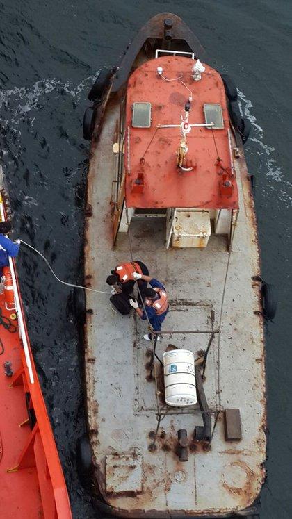 Los prácticos reclaman que les provean los elementos de seguridad necesarios para abordar las naves