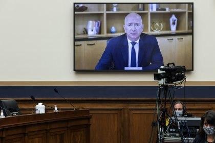 El CEO y fundador de Amazon, Jeff Bezos, testificó ante el Congreso de los Estados Unidos. Foto: Graeme Jennings/ REUTERS