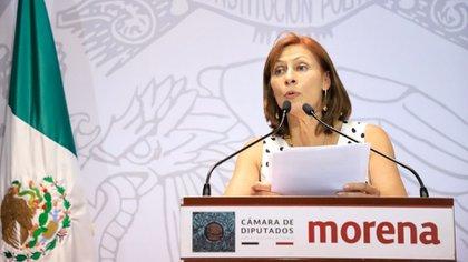 La diputada federal Tatiana Clouthier rechazó la militancia de Gerardo Vargas (Foto: Cuartoscuro)