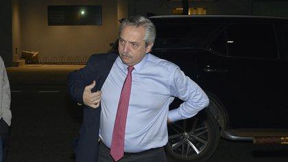 Alberto Fernández, candidato a presidente del Frente de Todos. (Gustavo Gavotti)