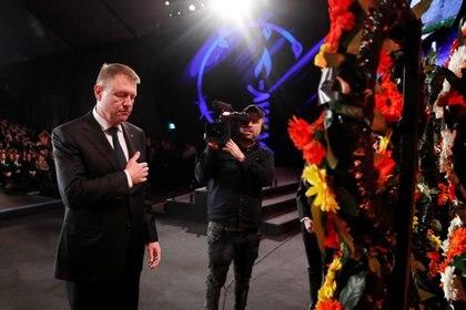 El presidente rumano, Klaus Iohannis. Foto: Ronen Zvulun/REUTERS