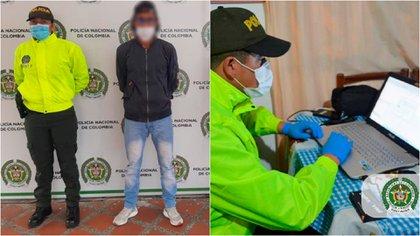 Banda de pornografía infantil delinquía en varios países del mundo y era liderada desde Colombia. Foto: Policía.