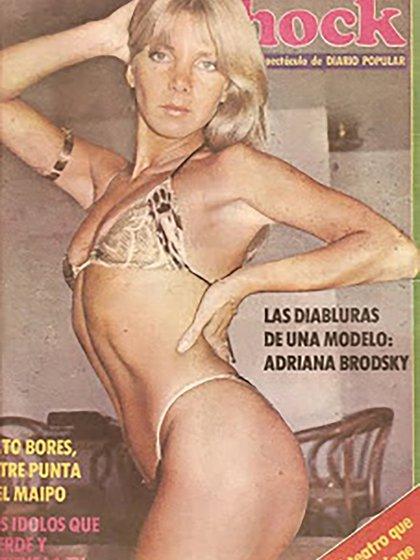 """Adriana Bordsky, una de las """"chicas Olmedo"""""""