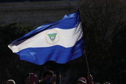30/09/2020 Imagen de archivo de bandera de Nicaragua. POLITICA CENTROAMÉRICA NICARAGUA INTERNACIONAL LATINOAMÉRICA JESUS HELLIN / ZUMA PRESS / CONTACTOPHOTO