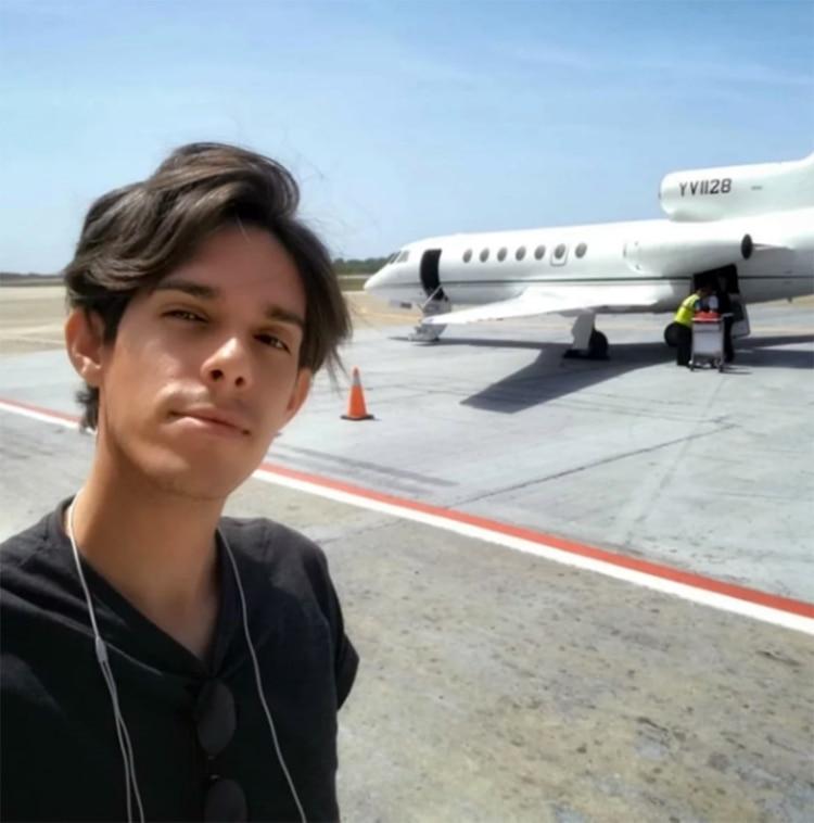 Otro de los viajes de Manuel Alejandro Marrero Medina en uno de los jets privados que utiliza el régimen para viajes internos y al exterior (Manuel Marrero / Instagram)