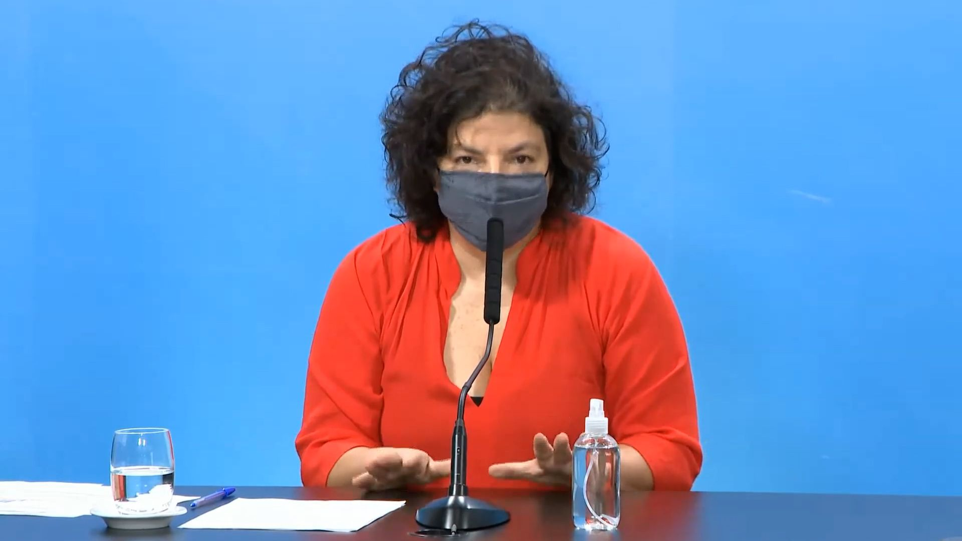Carla Vizzotti - fondo Covax en América Latina