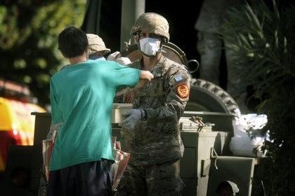 El Ejército distribuirá bolsones de alimentos en el partido bonaerense de La Matanza.