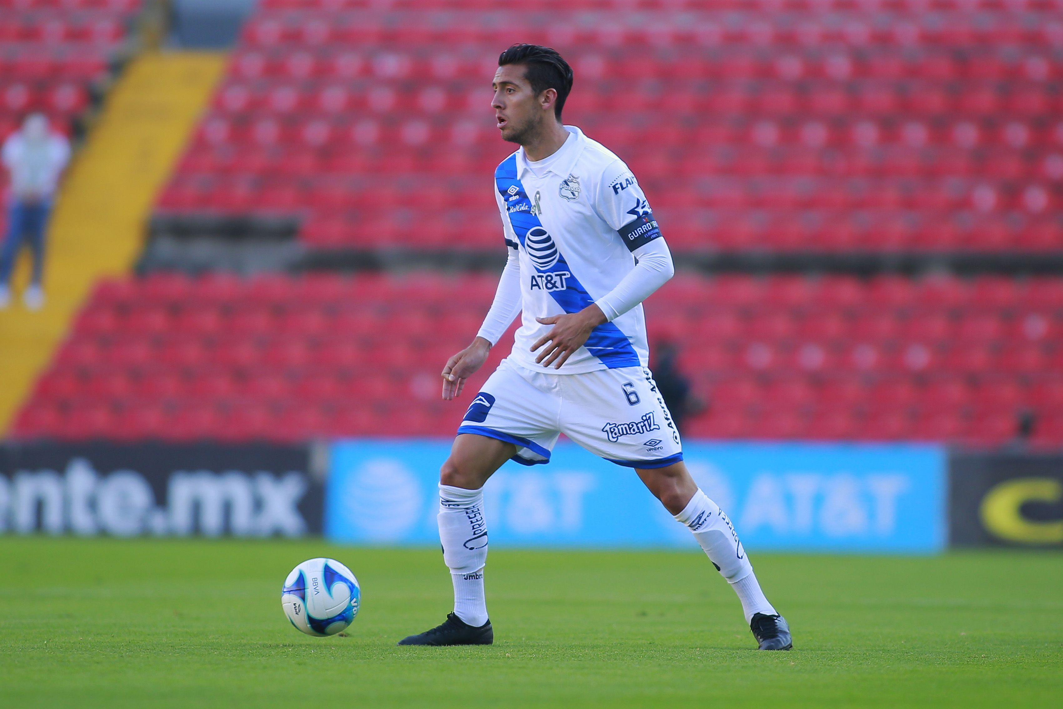 Javier Salas (Foto: Cortesía/ Club Puebla Cesar Gomez/ JAM MEDIA)