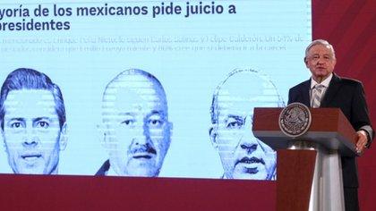 López Obrador propuso consulta popular sobre juicio a ex presidentes (Foto: Cuartoscuro)