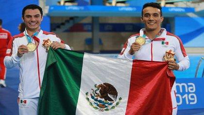 En la categoría de deporte no profesional se encuentra Yahel Castillo y  Juan Celaya Hernández(Foto: Cortesía de Conade)